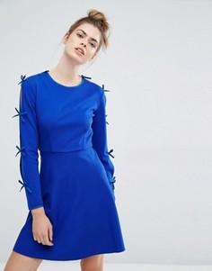 Трикотажное платье Sportmax Code Argenta - Синий