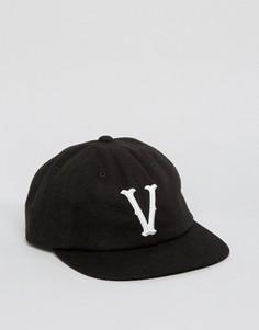 Черная бейсболка Vans Mark Jockey VA2YRXBLK - Черный