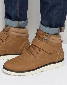 Ботинки на шнуровке и меховой подкладке Brave Soul - Серый