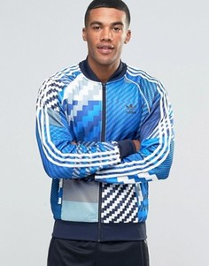 Серая спортивная куртка adidas Originals AY8279 - Серый