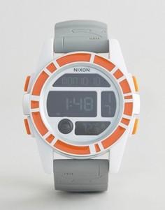 Цифровые часы Nixon X Star Wars BB-8 The Unit - Серый