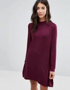 Платье с высоким воротником Brave Soul - Красный