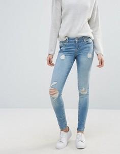 Суперузкие джинсы Vero Moda - Синий