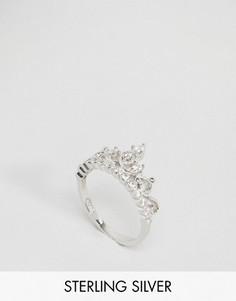 Серебряное кольцо Regal Rose - Серебряный