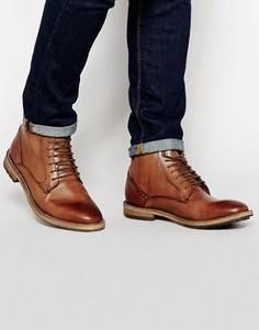 Кожаные ботинки Frank Wright Acton - Рыжий