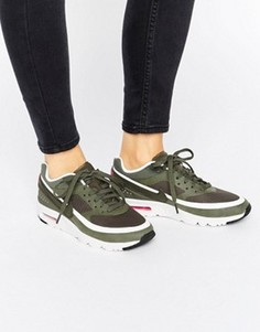 Кроссовки цвета хаки Nike Air Max 1 Ultra - Зеленый