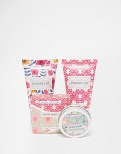Мини-набор для ухода за кожей рук Vintage & Co Fabric & Flowers - Бесцветный Beauty Extras