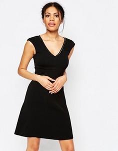 Платье с отделкой Traffic People Pillow Talk - Черный