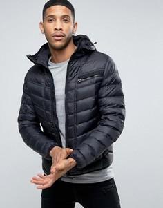 Стеганая куртка с капюшоном G-Star Attacc - Черный