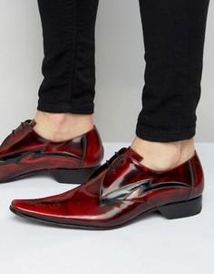 Кожаные туфли дерби Jeffery West Pino - Красный