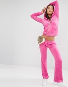 Велюровые джоггеры Jucy Couture - Розовый
