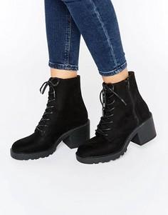 Ботинки на шнуровке ASOS RANA - Черный