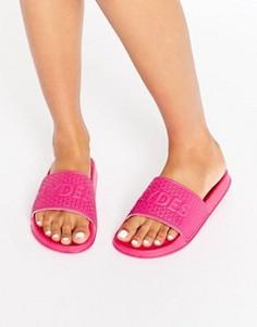 Сандалии с логотипом Slydes - Розовый