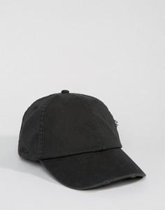 Потертая кепка Dead Vintage - Черный