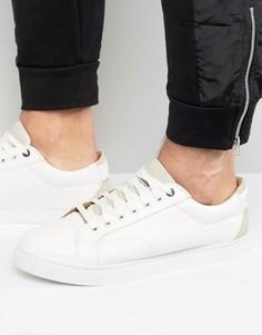 Низкие белые кроссовки G-Star Stanton - Белый