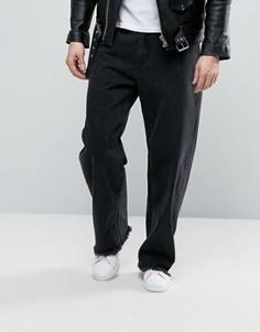 Выбеленные джинсы Cheap Monday Unisport - Черный