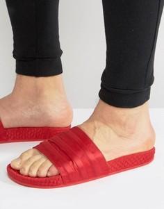 Красные шлепанцы adidas Originals Adilette BB3112 - Красный