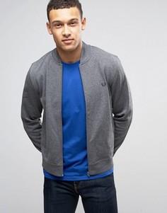 Серая спортивная куртка Fred Perry - Серый