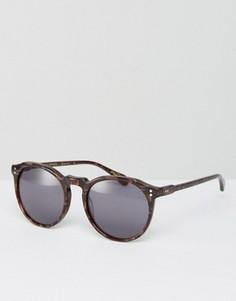 Круглые солнцезащитные очки Raen Remmy - Коричневый