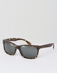 Квадратные солнцезащитные очки в черепаховой оправе Raen Weston - Коричневый
