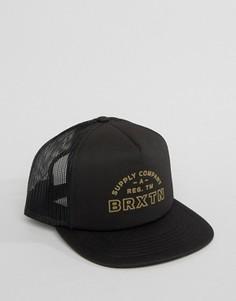 Бейсболка Brixton Knoxville - Черный