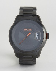 Черные часы BOSS Orange By Hugo Boss Hong Kong Sport 1550005 - Черный