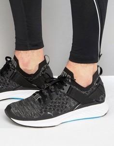 Черные кроссовки Puma Running Ignite 18990401 - Черный