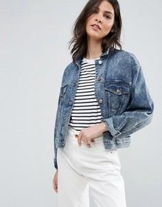 Укороченная джинсовая куртка Dittos Tiffany - Синий Dittos
