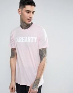 Футболка Carhartt WIP College - Розовый