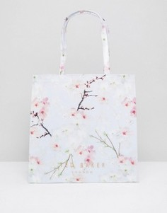 Большая сумка с логотипом Ted Baker Blossom - Серый