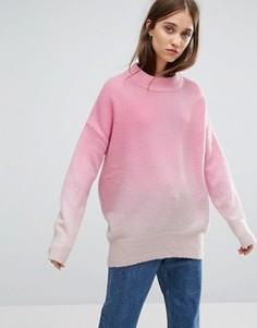 Трикотажный джемпер Weekday - Розовый