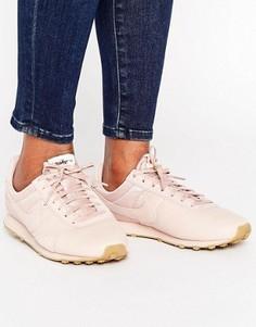 Розовые кожаные кроссовки Nike Pre Montreal Premium - Розовый