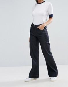 Классические расклешенные джинсы Waven Fenn - Синий