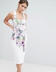 Платье Ted Baker Scarlin - Белый