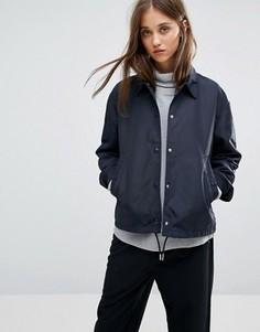 Спортивная куртка Weekday - Темно-синий