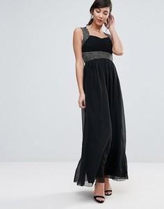 Платье макси Ax Paris - Черный
