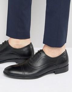 Черные кожаные оксфордские туфли Red Tape - Черный
