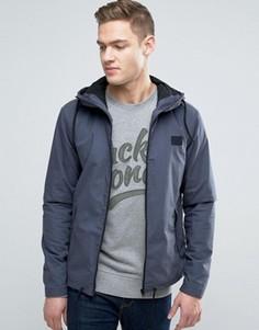Легкая куртка с капюшоном Jack & Jones Core - Синий