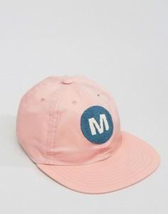 Maharishi Baseball Cap In Pink - Розовый