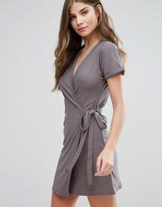 Платье с запахом Parisian - Серый