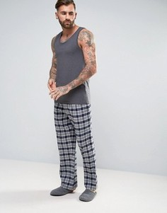 Серые штаны для дома в клетку Jack Wills Blakebrook - Серый