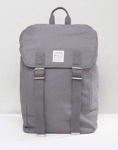 Jack Wills Coleridge Tracker Backpack Charcoal - Серый