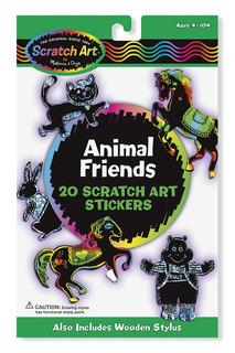 Набор стикеров животные Melissa & Doug