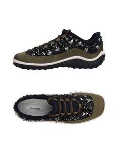 Низкие кеды и кроссовки Miu Miu