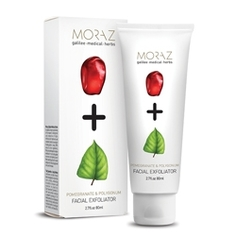 MORAZ Крем для лица отшелушивающий на экстрактах граната и горца PREMIUM BEAUTY MORAZ+ (премиальный уход) 80 мл