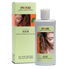 MORAZ Шампунь по уходу за сухими волосами на основе травяных экстрактов 250 мл
