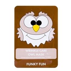 "ЛЭТУАЛЬ Антивозрастная маска для лица ""Сова"" Funky Fun 1 шт."