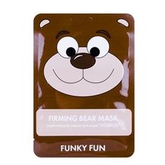 """ЛЭТУАЛЬ Укрепляющая маска для лица """"Медведь"""" Funky Fun 1 шт."""