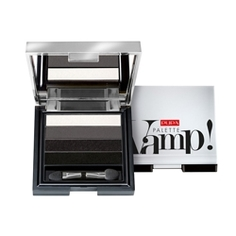 PUPA Тени Vamp! Palette 4 - Eyeshadow Palette Liquid Powder Effect № 004 Пурпурный золотой