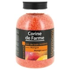 CORINE DE FARME Соли морские для ванн Манго 1,3 кг